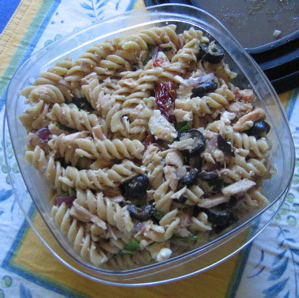 "mediterranean ""whatever"" pasta salad"